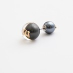 MAYU/PEARL RIVETS Black Pearl Initial,10mm Catch E