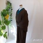 【M様ご予約品】深いチョコレート色のコート
