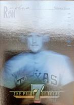 MLBカード 91FIELD OF VISION Nolan Ryan RANGERS ホログラム