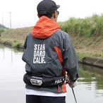 【GRAY/ORANGE】Fishing Hood Jacket / OTHERSELF×STANDARD CALIFORNIA ×UCCHI