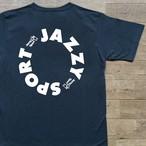 """【残りわずか】JS """"Circle"""" ロゴ 半袖 Tシャツ/スレートブルー"""
