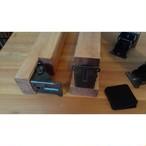 DIY 長さと塗装色オーダー ローテーブル脚 折れ脚金具付き 塗装 4本セット