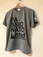hs-20 ACTIVE 『PASSIONATO』 T-SHIRT ・ヘザーグレー