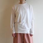 PHEENY【 womens 】 c/n seer layered tee
