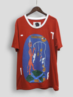 Re1033:  DEVIL FISHING PATCH TEE