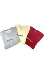 スウェット トレーナー 刺繍ロゴ 【レッド】 サムネイル