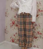 【限定セール】BURBERRY CHECK PANTS
