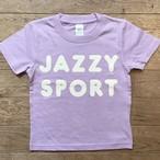 """【残りわずか】JS """"Americana"""" ロゴ キッズ Tシャツ/ライトパープル"""