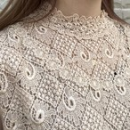 (LOOK) lace design tops