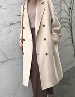 ルーズフィットコート コート ロングコート 韓国ファッション
