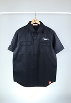 BZWS TAG T/C WORK SHIRT [BLACK]