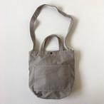 コットントートバッグ ダークグレイ|Cotton Tote Bag Dark Gray