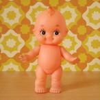 2本眉の日本製 キューピー人形 ソフビ 昭和レトロ