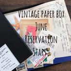 【6月中旬ごろお届け】予約販売/オリジナルBOX入りヴィンテージペーパーBOX