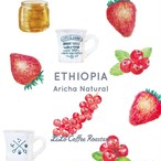 50g エチオピア natural・Premium Specialty・Light Roast