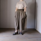 TENNE HANDCRAFTED MODERN/テン・ハンドクラフティッド・モダン Big Pocket Culottes #21-012 KHAKI