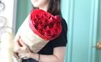 お花で伝える愛の言葉 プロポーズ お誕生日 結婚記念日 12本のバラの花束「ダーズンローズ」