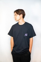 Chilly Source Logo Pocket Tee 【Black】