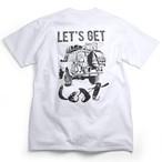 CAMPSオリジナルTシャツ【Let's get Lost】ランドクルーザー80