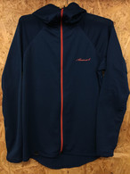 【Answer4】 Power Grid Full-Zip Hoodie (Deep Turquise)