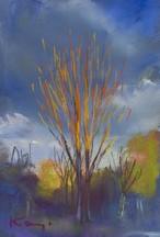 NO.49「オレンジ色の木・1月」