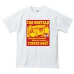 No.001 コーギーズヘッドのレンタカーショップTシャツ!