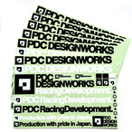 【再入荷】pdc_STICKER SHEET [L]