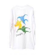 Dancers L/S Tee -White-