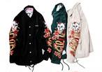 [予約商品]EFFECTEN(エフェクテン)embroidery Coach jacket
