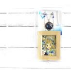 【ミズイロ×嶋波誌麻】魔導石~エーディン~イメージイラストセット/ネックレス&イラストセット