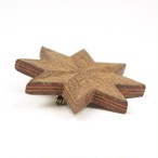 wooden inlaid charm 〜brooch〜 ✨