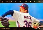 MLBカード 93UPPERDECK Dave Mlicki STAR ROOKIE  #017 INDIANS