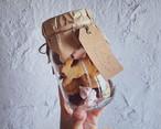6周年記念商品 刺繍トートバッグ&ひそひそクッキー瓶セット