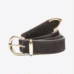 Hair-On-Hide Belt(Brown)