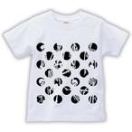 妖怪Tシャツ 骨水玉 ブラック