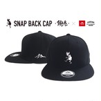 NEW!【限定コラボS.B CAP(BLACK × WHITE )】