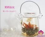 【中国茶・工芸茶】オリジナル高級品 新芽工芸茶  モーリーシェン二 5粒 ポスト投函送料無料