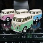 WELLY ファニーワーゲンバス  パステルカラー 4台セット