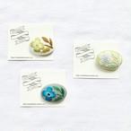 マカベアリス 刺繍ブローチ(横型②)