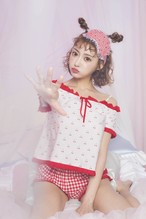♡cherry ribbon room wear♡