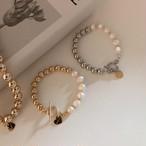 perl× ball bracelet