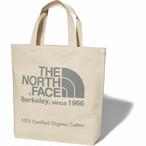 THE NORTH FACE (ザノースフェイス) TNFオーガニックコットントート (ZG)ナチュラル×ジンクグレー NM81908