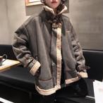 【outer】暖かいポケット合わせやすいコート