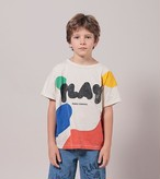 BOBO CHOSES ボボショセス Play Landscape Short Sleeve T-Shirt size:2-3Y(95-100)~8-9Y(125-135)