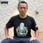 【Cotton100%】怒りのゲーリーノムライト柔術Tee (Black)