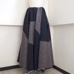 【sandglass】wool doll skirt / 【サンドグラス】ウールドールスカート
