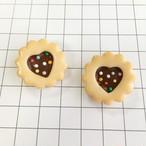 【fleurette】チョコサンドクッキーのブローチ
