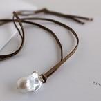 バロックパール コードネックレス -Baroque pearl-