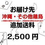 【お届け先沖縄・その他離島】 追加送料(2500円)※商品とあわせて別途ご購入ください。