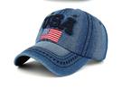 BASEで人気♪ USA デニム キャップ 帽子T108